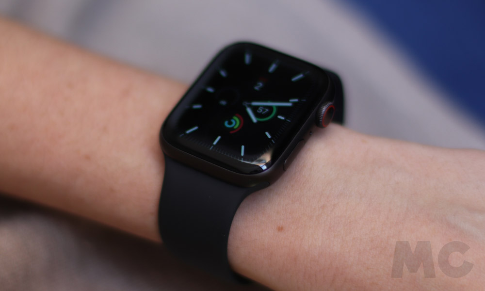 Apple Watch Series 5 GPS + Cellular, análisis 45