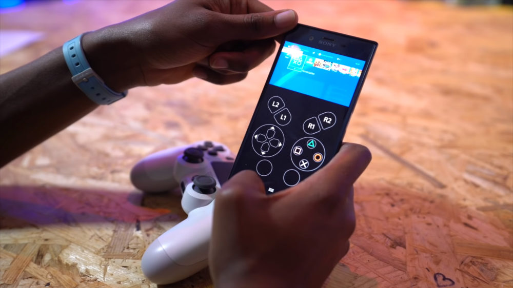 Cómo usar móvil como mando de PS4
