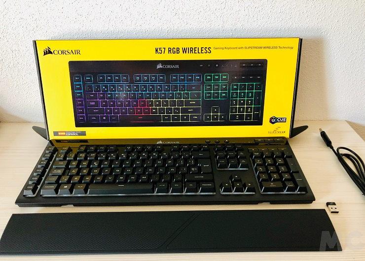 Corsair K57 RGB Wireless Gaming, análisis: rompe tus cadenas 37
