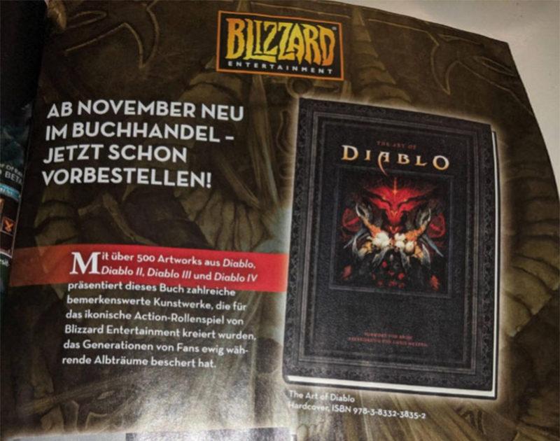 Diablo IV Artbook