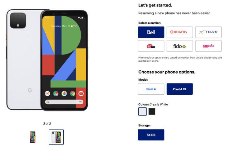 Google presenta nuevo Pixel 4 y nueva cámara