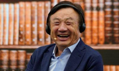 El fundador de Huawei usa iPad