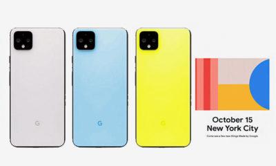 Google Pixel 4 Pixel Watch Made in Google 2019