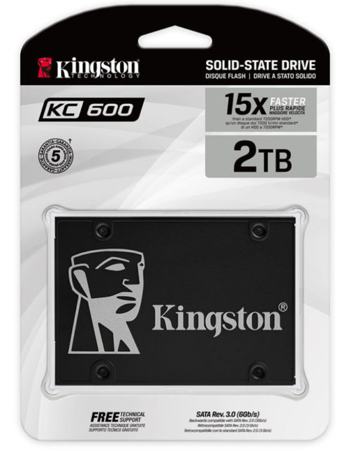 Kingston SSD KC600,