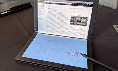 Lenovo ThinkPad X1 con pantalla plegable