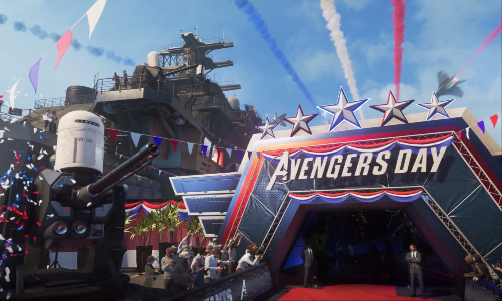 Marvel's Avengers Trailer Historia Gameplay A-Day