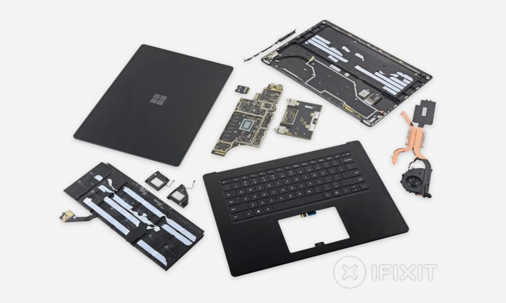 Microsoft Surface Laptop 3 iFixit