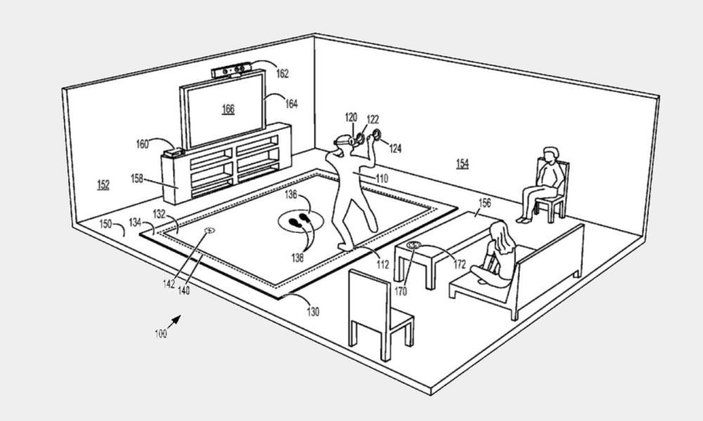 Microsoft patente alfombra VR