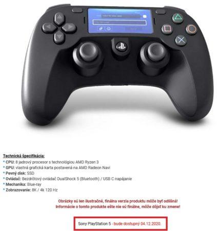 Una tienda online lista y pone fecha de lanzamiento y precio a PS5: 499,99 euros 32
