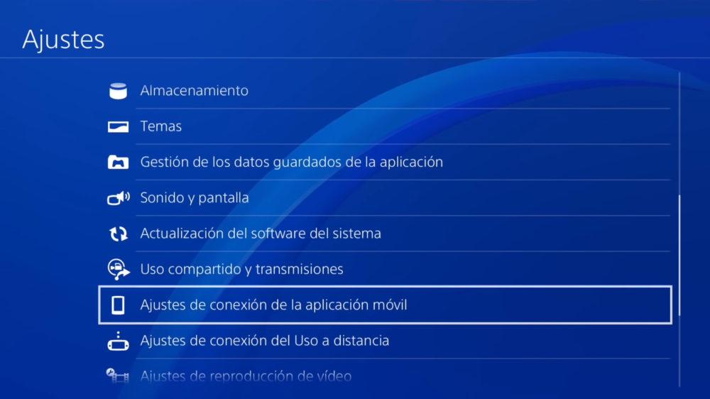 Remote Play PS4 jugar desde móvil