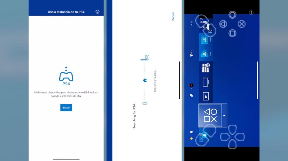PS Remote Play PS4 para móviles