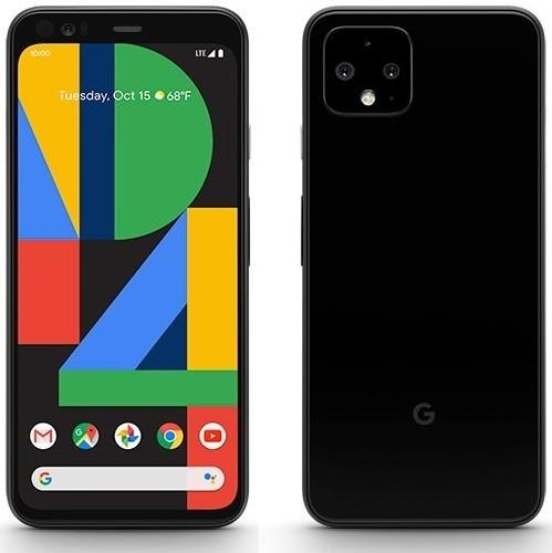 Render oficial del Google Pixel 4