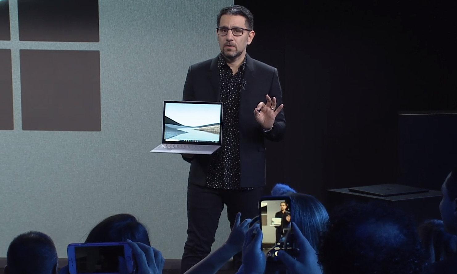 "Microsoft presenta Surface Laptop 3 con modelo de 15"" y procesador Ryzen Mobile 30"
