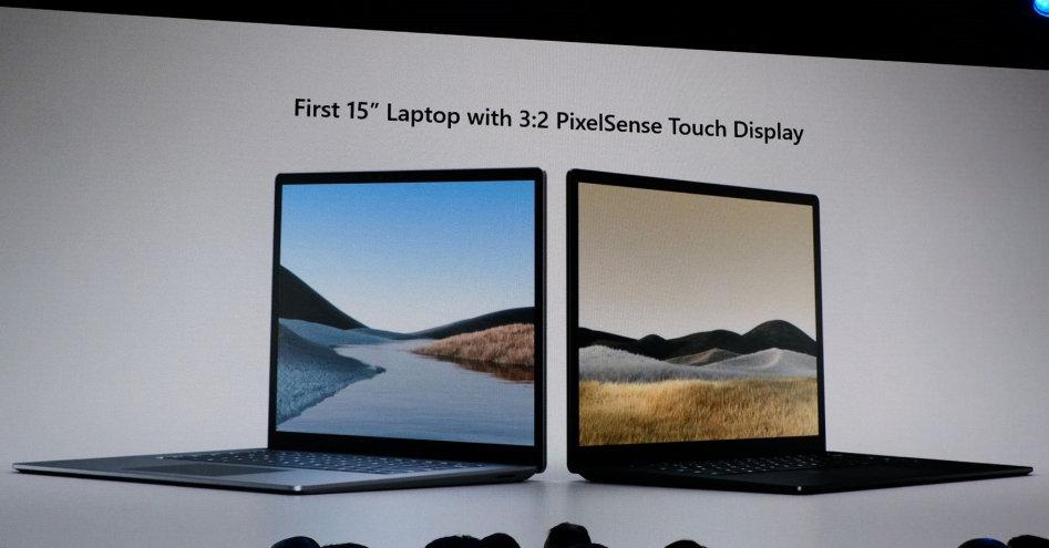"Microsoft presenta Surface Laptop 3 con modelo de 15"" y procesador Ryzen Mobile 32"
