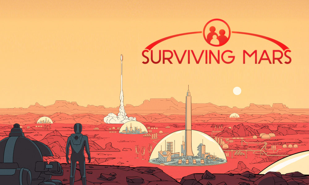 Surviving Mars Gratis Epic Games Store