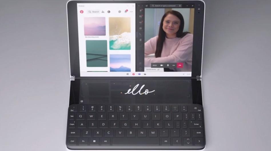 Surface Neo, Microsoft muestra un 2 en 1 único con doble pantalla 35