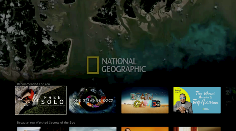 Disney+ National Geographic