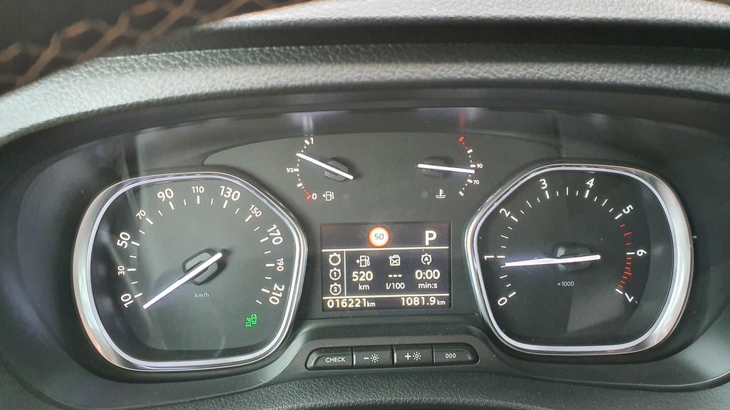 Peugeot Traveller, fondos 40