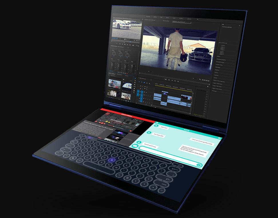 ASUS Precog Duo Screen