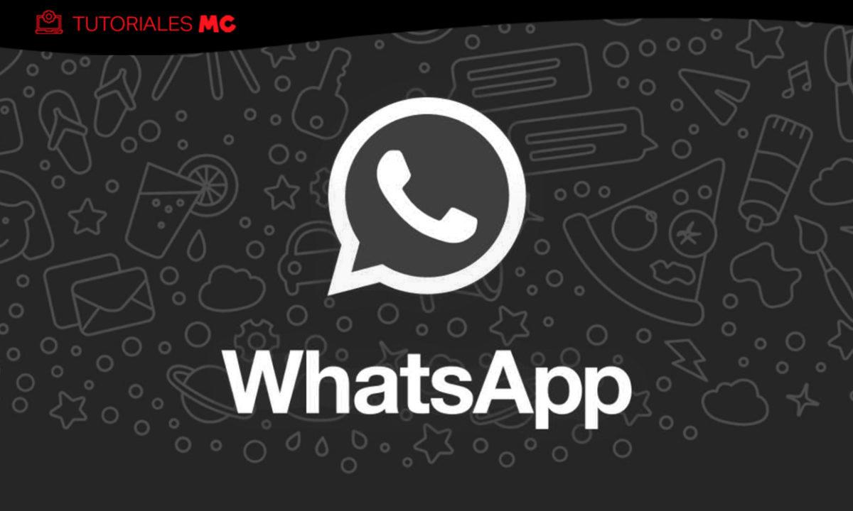 Cómo activar WhatsApp Web Modo Oscuro