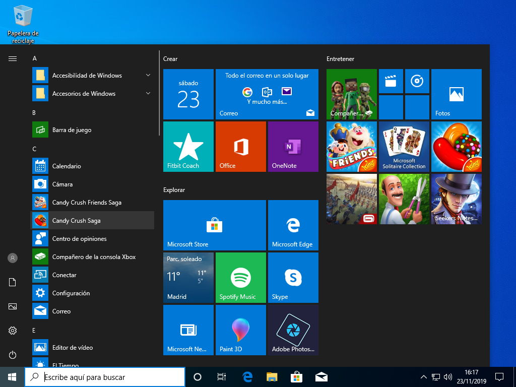 Candy Crush en Windows 10