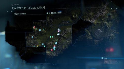 Death Stranding Mapa