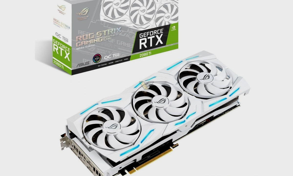 ASUS presenta la GeForce RTX 2080 Ti ROG STRIX White Edition 30