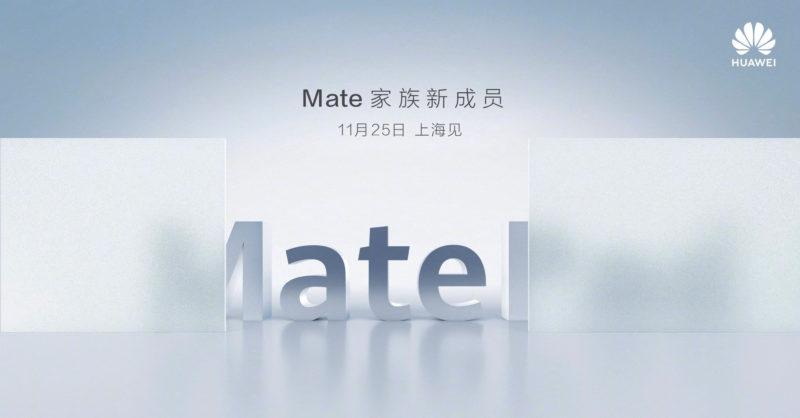 Huawei MatePad Pro Fecha