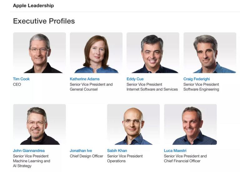 Jony Ive Directiva Apple