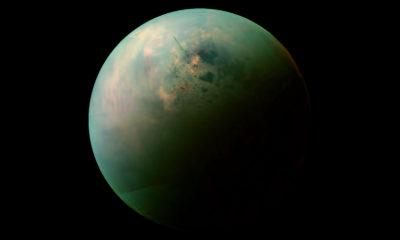 Mapa Titán Luna Saturno