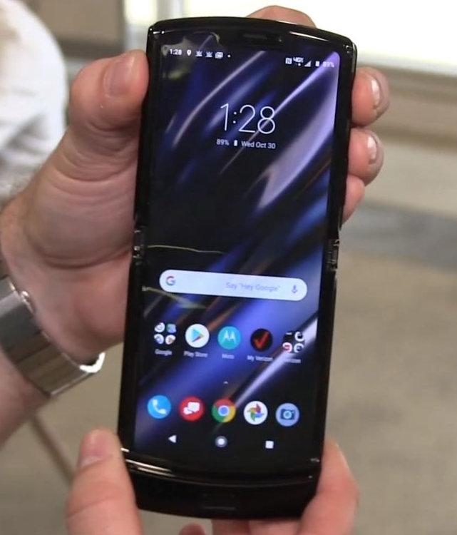 Motorola Moto Razr es oficial y es un plegable tan especial como interesante 33