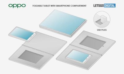 Oppo tablet flexible movil