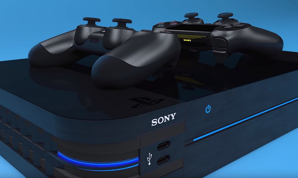Render conceptual de PS5