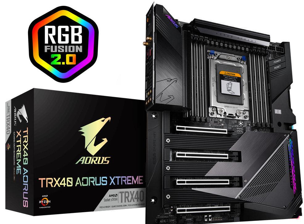 placas base TRX40