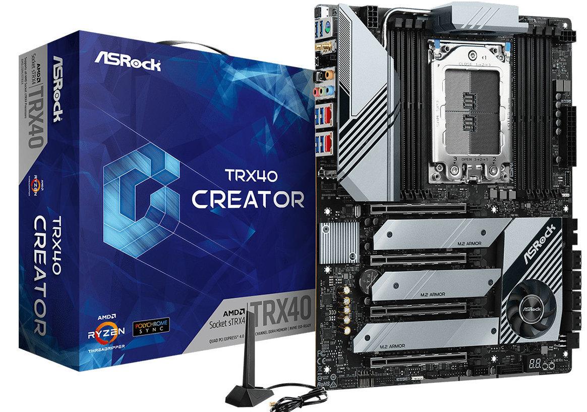 ASUS, GIGABYTE y MSI anuncian placas base TRX40 para los AMD Threadripper 3000 44