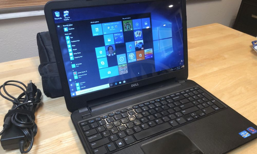Portátil de Dell con Intel y Windows 10