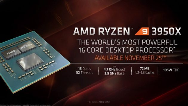 AMD presenta los Ryzen 9 3950X, Threadripper 3000 y el Athlon 3000G 42