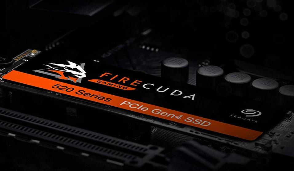 Seagate presenta SSD PCIe 4 Firecuda 520 y un Gaming Dock con Thunderbolt 3 32