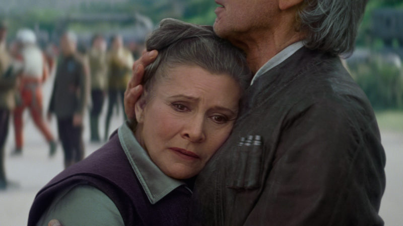 Star Wars Carrie Fisher CGI