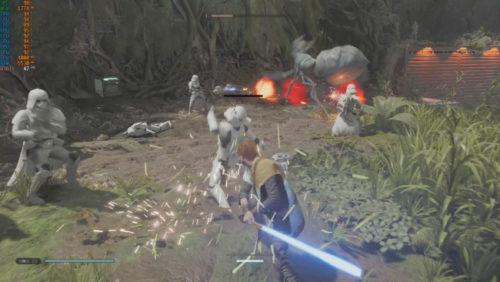 Star Wars Jedi Fallen Order Rendimiento GTX 1050