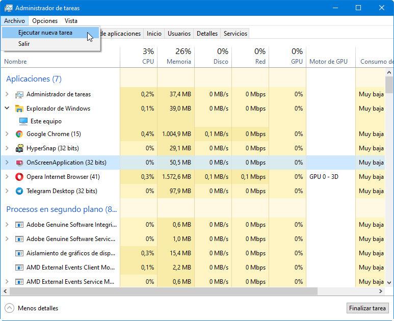 Microsoft añade funciones al Task Manager, una de las herramientas más interesantes de Windows 56