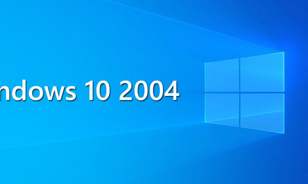 Windows 10 2004 Päivitys