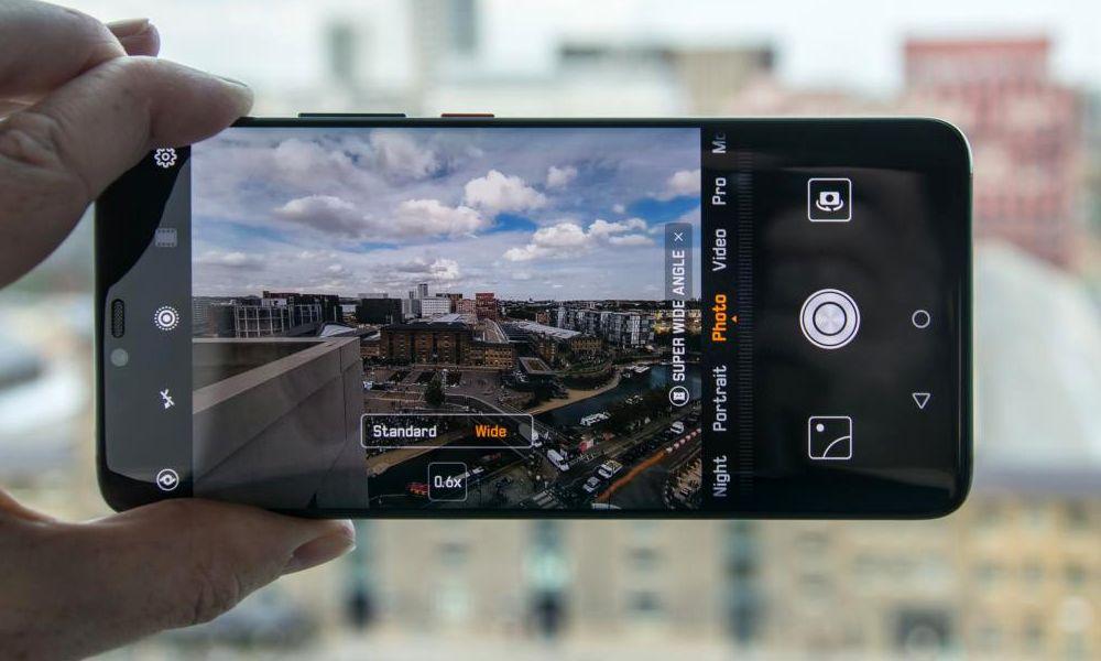 aplicaciones de las cámaras de fotos de Google y Samsung para Android
