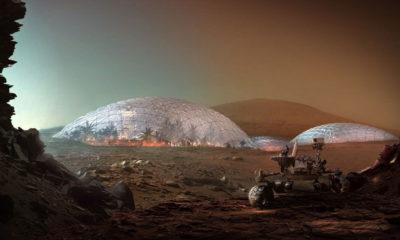 Establecer la primera ciudad en Marte nos llevará 20 años y mil naves espaciales 50