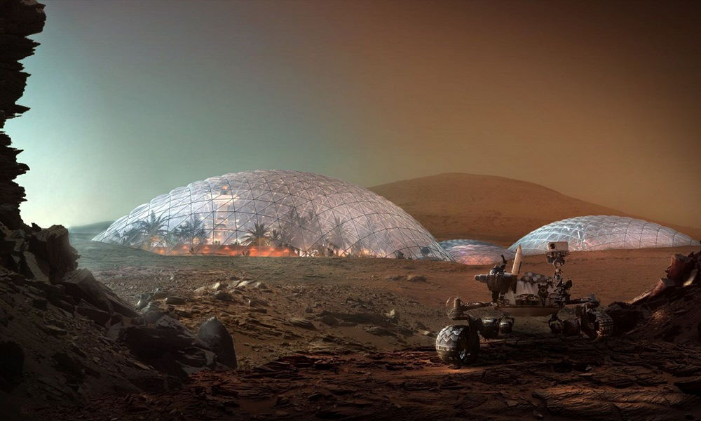 city ​​built on mars