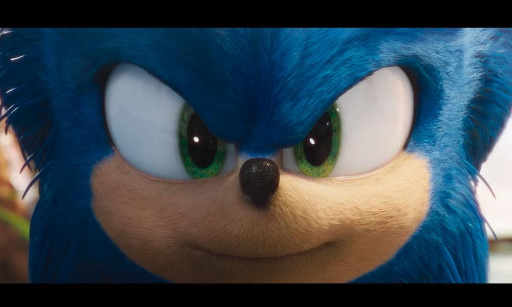 diseño de Sonic en su película