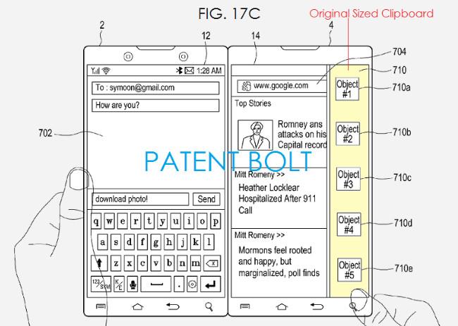 El dispositivo Samsung de doble pantalla apunta al Surface Neo 33