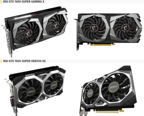 NVIDIA lanza la GTX 1650 Super para hacer frente a la Radeon RX 5500 47