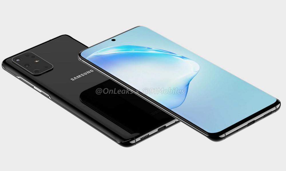 renders del Samsung Galaxy S11
