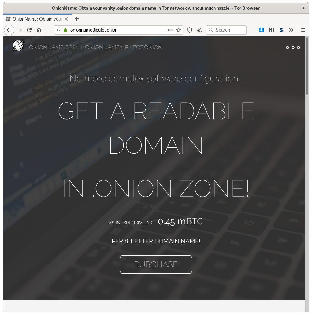 OnionDomain